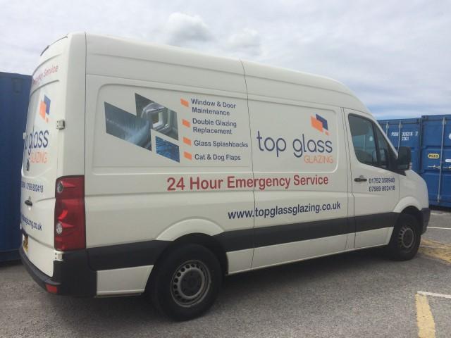 Image of Top Glass Glazing van